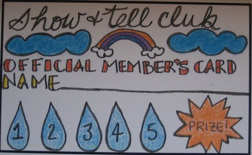 Show & Tell Membership Cards | by sarahjane.