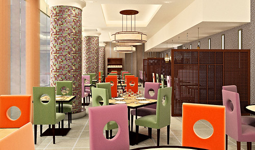 Restaurant Interior | by Taran3D