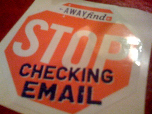 Stop Checking Email with AwayFind.com | by Frank Gruber