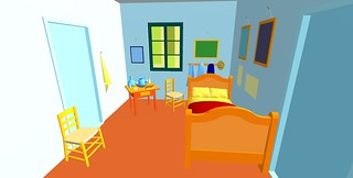 Vincent's Room Untextured | by primtings
