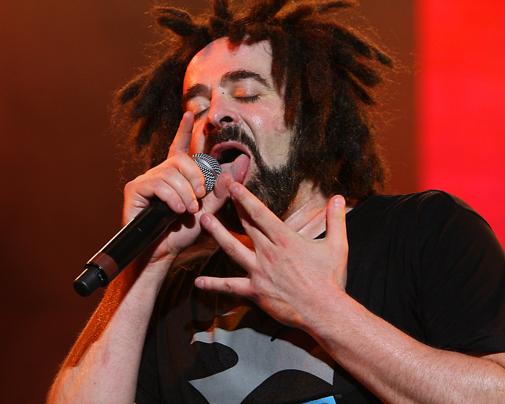 Counting Crows Adam Duritz By Kevin Baldes