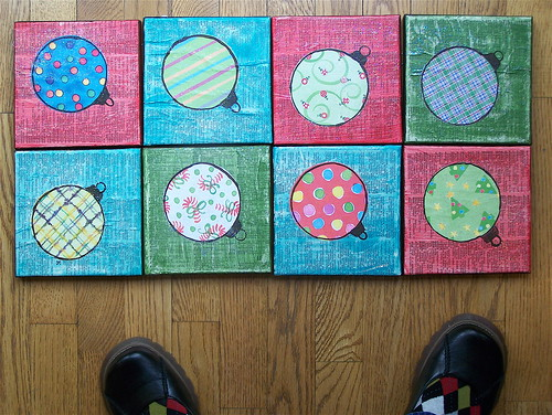 8 canvases ... cute shoes | by eeeee