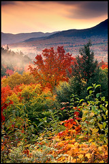White Mountain Forest - Autumn Sunrise, New Hampshire | by enlightphoto
