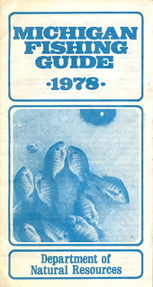 1978 michigan vintage fishing license law digest guide for Fishing license michigan