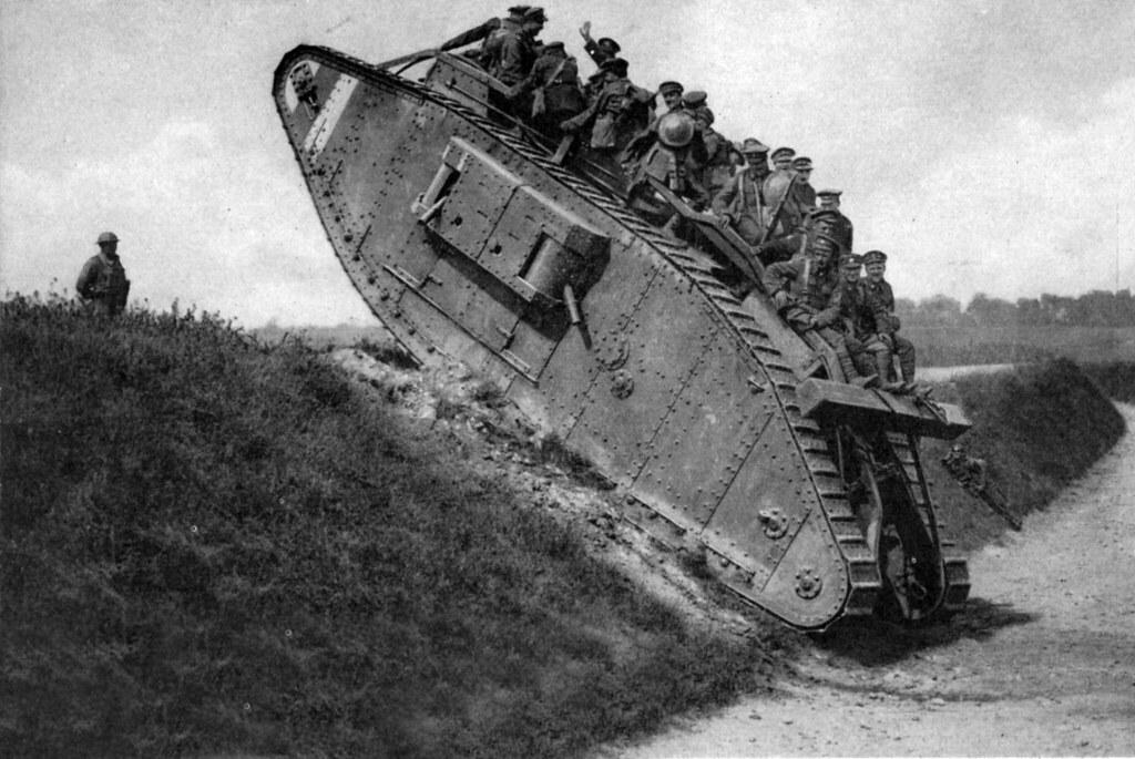 WW1 tank | female Mk IV | Nick J Stone | Flickr