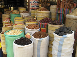 Spices in a Cairo market | by dungodung