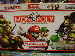 Nintento themed Monopoly | by guiltyx