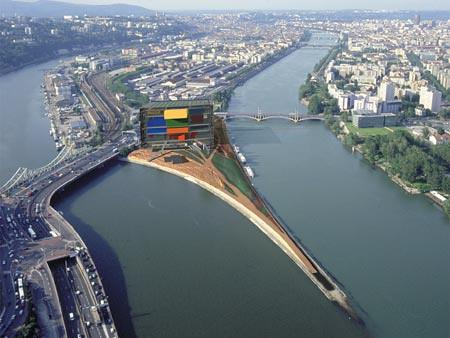 Lyon confluence concours international d 39 architecture for Architecte 3d 2001