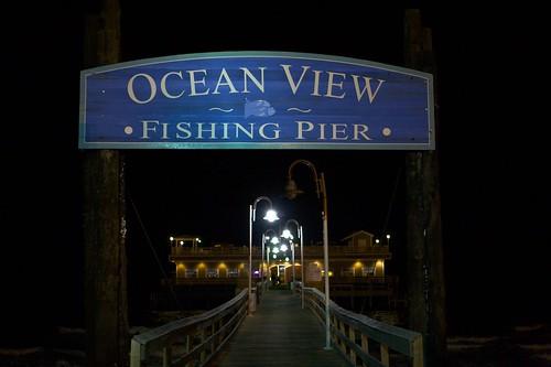 Ocean view fishing pier norfolk va on the chesapeake for Ocean view fishing pier