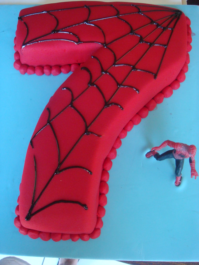 Spiderman 7 Birthday Cake Orderdollcakesgmail Flickr