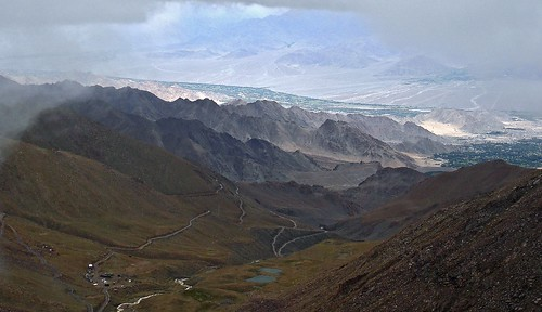 Misty view near Khardung La in Ladakh.. | by Himalayan Trails