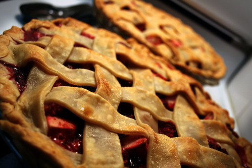 Apple raspberry pie | by Caitlinator
