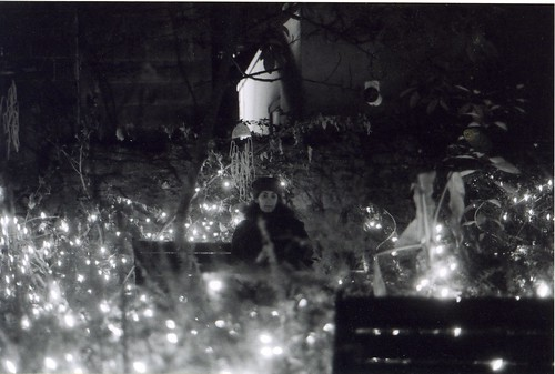 Carly in the Fairy Lights (c 2000) | by Carly & Art