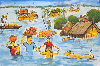 Bangladesh - climate change canvas | by Oxfam International
