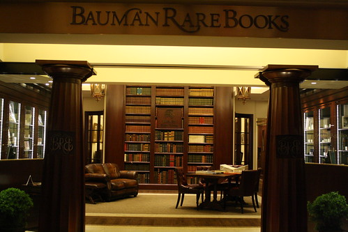Bauman Rare Books - haven in a land of chaos | by LibraryatNight