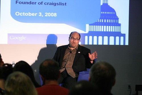 Google DC Talk : Craig Newmark: Support S.223 :pass223.com | by ShashiBellamkonda