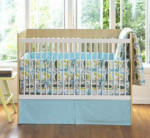 dwell baby furniture. SOLD -- $40 Dwell Studio Baby Crib Bedding - Motif Robin | By Ms. Furniture