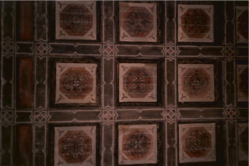 Variety Arts Center Building Lobby Ceiling, 1988 | by Floyd B. Bariscale