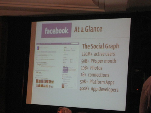 QCon 2008 San Francisco - Facebook - At a Glance | by mansillaDEV