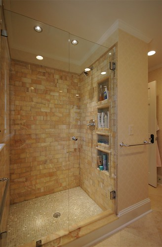 Custom Tiled Shower | by hawthornincatlanta