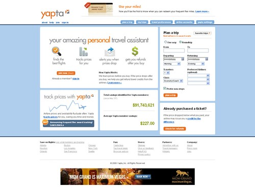 Yapta - Track Airline Flight Ticket Prices and Airfares, Save Money! | by ramitsethi