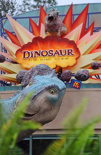Disney - Dinosaur Attraction Sign | by Express Monorail