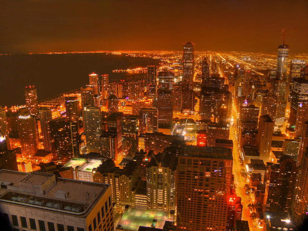Downtown Chicago as seen from the Signature Room | Wiki: The… | Flickr