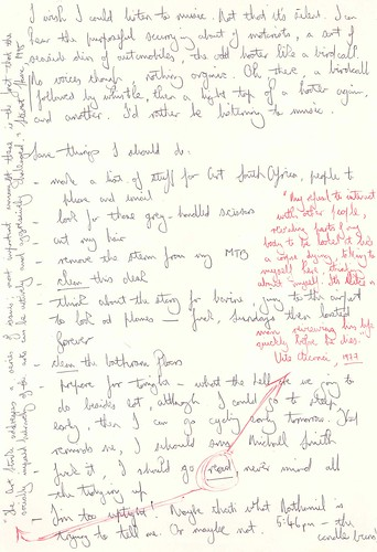 Sean O'Toole's hand-written notes, page 2 | by nathaniel s