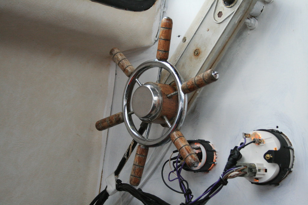 Steering Wheel Or Whats It Called When Its On A Boat Flickr