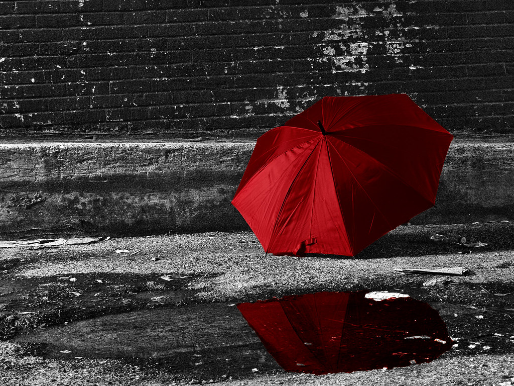 Red Umbrella Im Resubmitting A Corrected Version I Saw A Flickr
