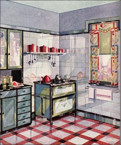 1929 vintage vitrolite kitchen another cute vitrolite for Retro kitchen designs rustenburg