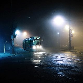 midnight tram to humber | by uwajedi