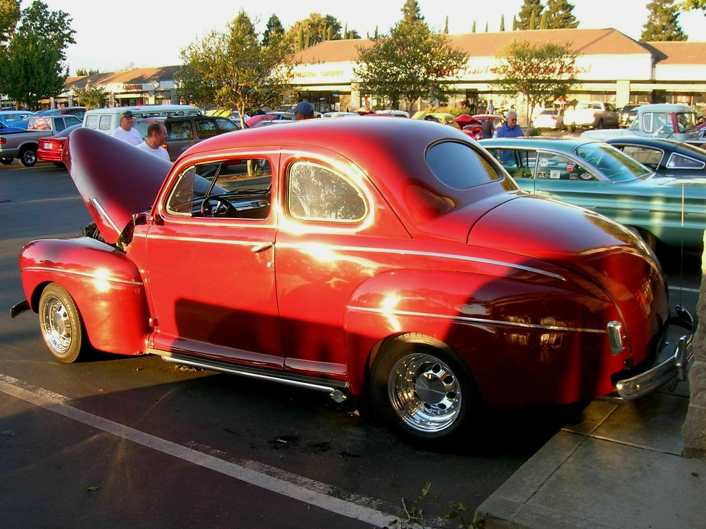 1941 Ford Coupe Custom 30 D 811 3 Photographed At The 2 Flickr Red By Jack Snell
