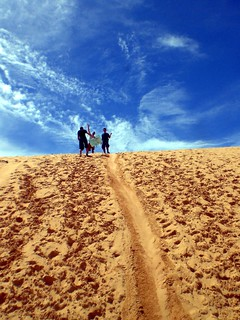 Sand dune surfing! | by medeny
