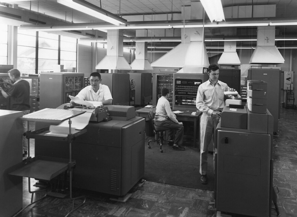 IBM 701 Computer   The 1950s s...
