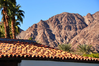 Roof Top, Palms and Mountain | by sfPhotocraft