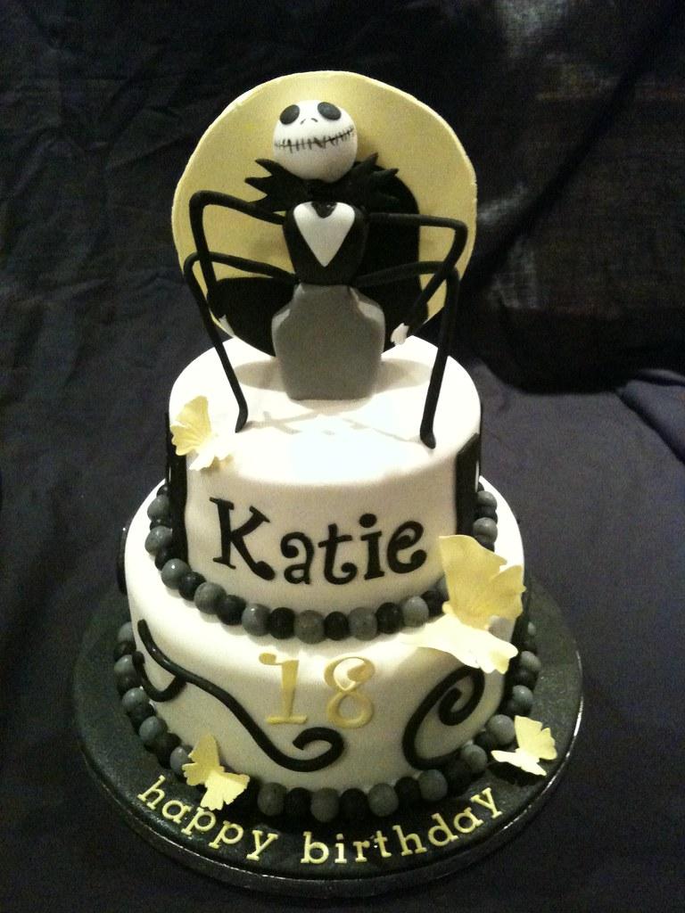 Jack Skeleton Birthday Cake Nice Buns Flickr