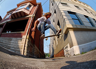 Evan- Street gap ollie | by Devin Radabaugh