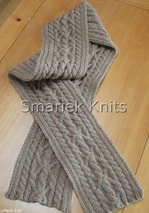 Triumph Cable Scarf | by smariek