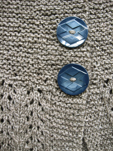 february lady, buttons detail | by jodigreen
