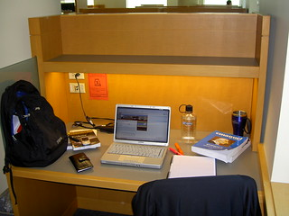Study carrel | by Seattle University Law Library