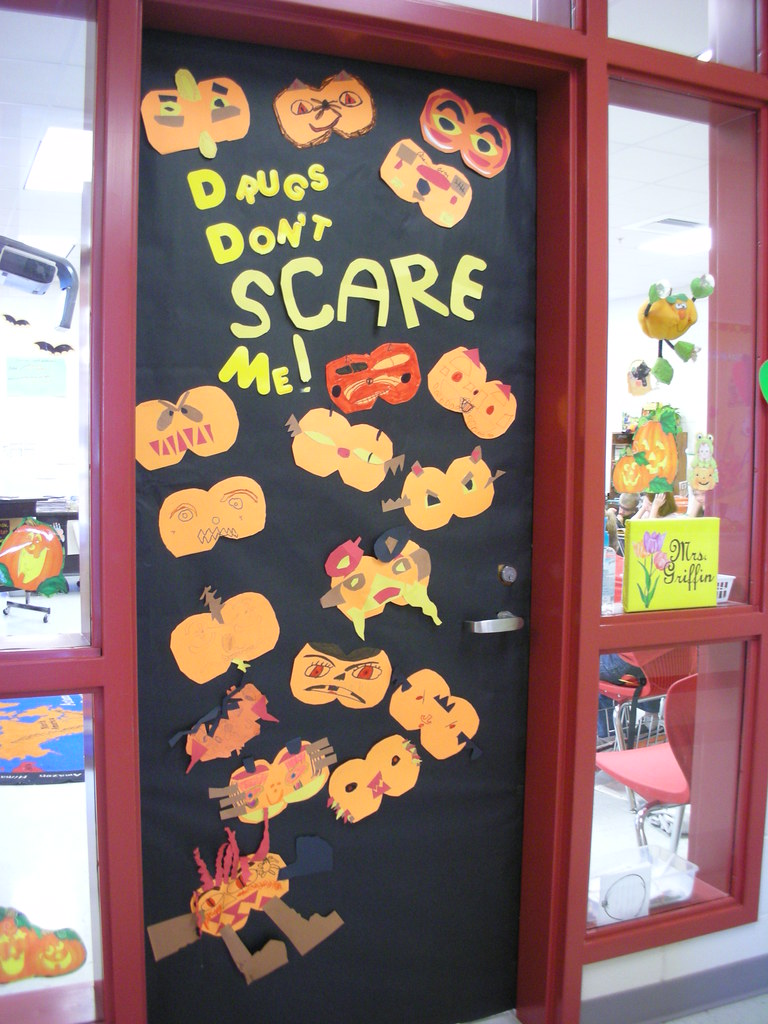 Door Decorations For Red Ribbon Week Drugs Dont Scare Me Flickr