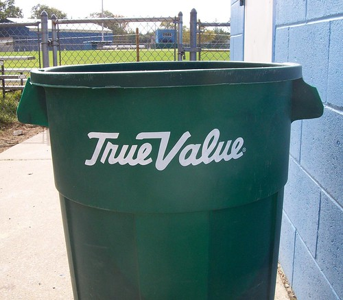 True Value Trash Can | by BACKYard Woods Explorer