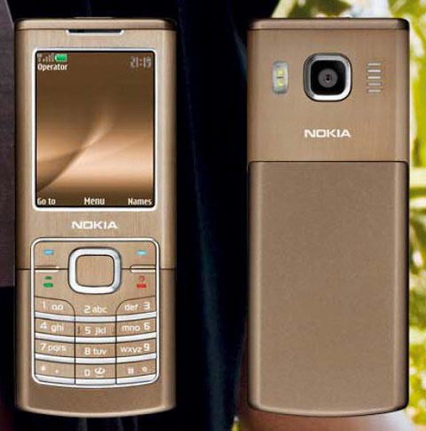 nokia 6500 classic s 320 slim gold limited edition phone. Black Bedroom Furniture Sets. Home Design Ideas