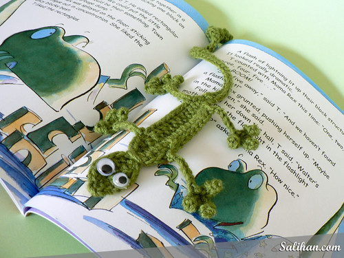 Gecko Bookmark | by :Salihan