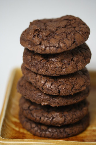 Dark-Chocolate Cookies with Espresso (Everyday Food recipe) | by Food Librarian