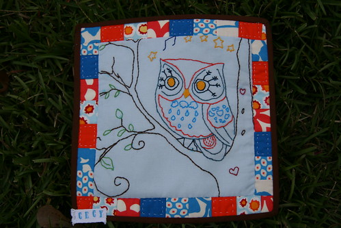 Sept. Mini Quilt Swap Owl Theme | by cecysg