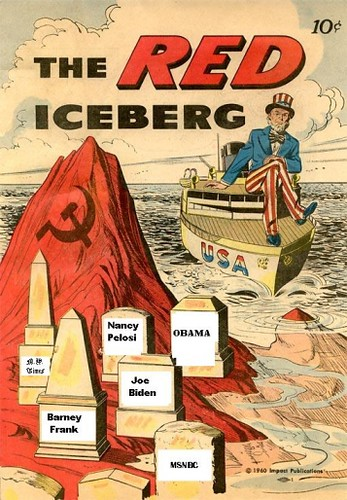 New Red Scare as Iceberg Political Cartoon | Screen ...