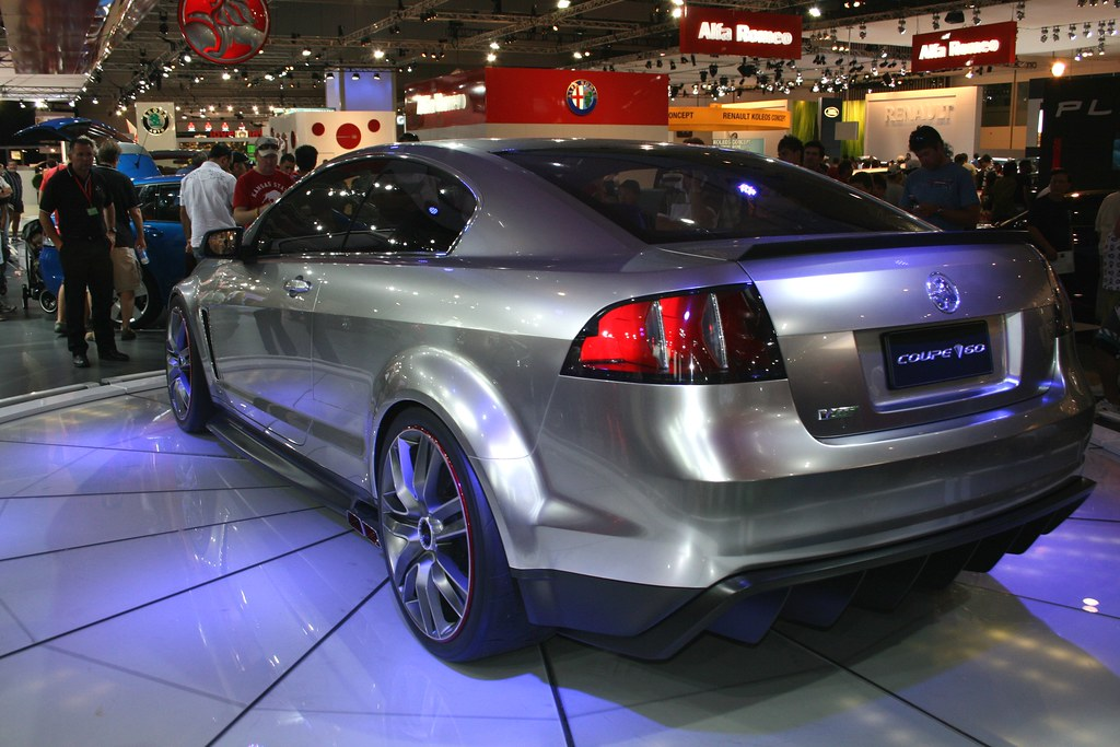 Holden Coupe 60 Concept Car Rear View Is Great Chris Keating