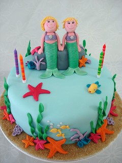 Mermaid birthday cake | by Cake Mumma
